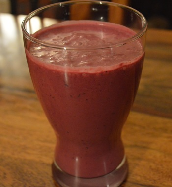 cropped smoothie